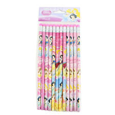 Brand New Disney Princess Belle Snow White School Supplies 12pcs Set Pencils
