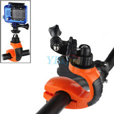 360° Rotate Bike Bicycle Handlebar Clamp Mount Holder Adapter For  Camera Gopro