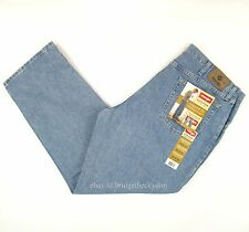 Wrangler Jeans Relaxed Fit New Mens Size 40 x 30 STONE BLEACH Zipper Fly #553