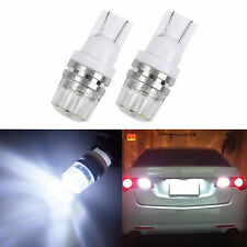 2pcs T10 W5W 360° LED White Bulbs License Plate car Lights For Maruti Alto