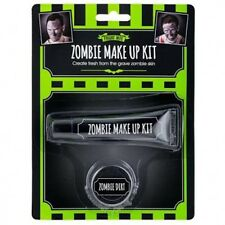 Halloween Horror effetto MAKE UP KIT Zombie FAKE Pelle sporcizia FACE PAINT FANCY DRESS