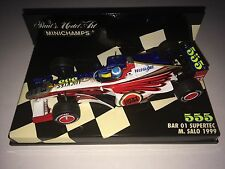 Minichamps F1 1/43 BAR 01 SUPERTEC Mika SALO 555 LUCKY STRIKE Tobacco ZIPPER CAR
