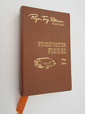 Freshwater Fishes Easton Press Roger Tory Peterson leather