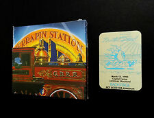 Grateful Dead Terrapin Station 3/15/1990 3 CD Poster Backstage Pass Spring '90