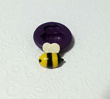 Silicone Mold Cute Bee Mould (S) (18mm) Fondant Cake Decoration Clay Resin Soap