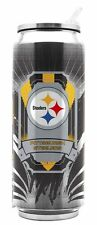 Pittsburgh Steelers Stainless Steel Thermo Can - 16.9oz [NEW] Tumbler Mug Coffee