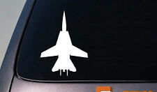 "F-14  FIGHTER 6"" Sticker Window Vinyl Decal Pilot Fly Aircraft Jet USA Bomber"