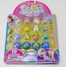 SQUINKIES Series 1 Bubble Pack 16 Figures/Capsules NEW Sealed 2010