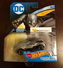 DC Comics * ARMORED Batman * 2017 Hot Wheels Character Cars
