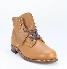 Wolverine 1000 Mile NEW Brown Shoes 8M Ankle Leather Boots  $405- #270 DEAL