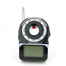 SPY BUG DETECTOR AND LASER CAMERA LENS FINDER GPS GSM WIFI G3 G4 SMS RF