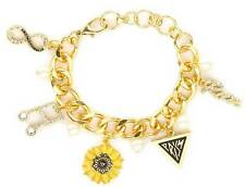 Katy Perry Gold Prism Icons Charm Bracelet Prism Collection Music Infinity NWT