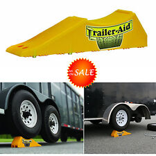 Car Ramps Trailer Aid Tandem Tire Wheel Auto Changing Ramp Lift Garage Service