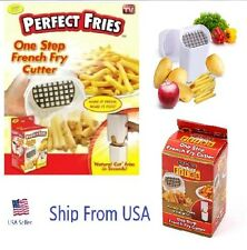 Perfect Fries One Step French Fry Cutter Brand as seen on TV  Ship from USA !!