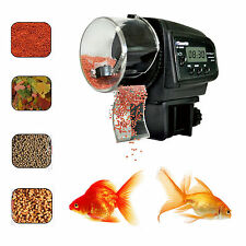 New Auto Fish Feeder Aquarium Tank Fish Food Automatic Timer Feeding