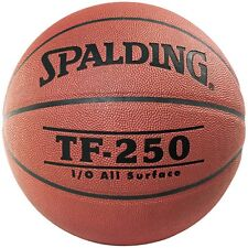 Spalding TF-250 PU Composite Leather Basketball [Size 6] + Free Aus Delivery