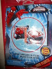 "THE ULTIMATE SPIDER-MAN ARM FLOATS SET OF TWO 7 "" BRAND NEW"