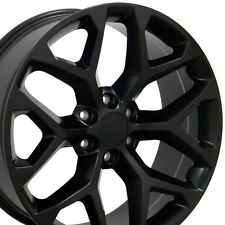 GMC Sierra Wheel Touch Up Paint Matte Black Flat