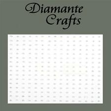 240 x 1mm White Pearl Self Adhesive Rhinestone Body Nail Vajazzle Gems