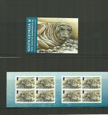SOUTH GEORGIA 2004 JUVENILE FAUNA AIRMAIL BOOKLET SELF ADHESIVE SG SB1 MNH