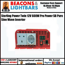 Sterling Power Twin 12V 600W Pro Power SB Pure Sine Wave Inverter PN: SIB12600