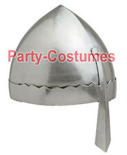 Medieval Norman Nasal Helm Knight Helmet 18 Gauge Steel Larp Re-enactment armour
