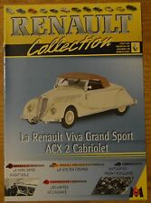 Fascicule Renault Collection, M6 Editions, n°73, Renault Viva Grand Sport ACX 2