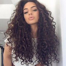 "Long Afro Kinky Curly Wig Synthetic Hair for Black Women 24"" Female Women's Wigs"