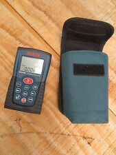 Bosch DLR130 Digital Distance Measure device used great condition with case