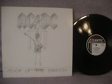 AC/DC, Flick Of The Switch, Atlantic Records 80100-1, 1983, Hard Rock