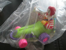 McDonalds Toys 1992 RONALD MCDONALD IN CAR NEW & SEALED IN BAG