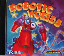 ROBOTIC WORLDS  -  PC GAME *** Brand New & Sealed ***
