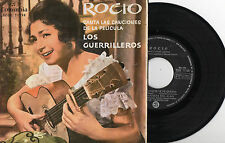 ROCIO JURADO Canta Las Canciones De La Pelicula Los Guerrilleros, EP SPAIN 1962
