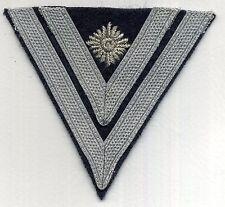 LUFTWAFFE Stabsgefreiter Winkel gestickter Stern/ Luftwaffe chevron + rank star