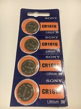 4 FRESH Sony CR1616 Lithium Coin Watch Batteries 3V Exp 2026-USA seller