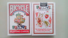 CARTE DA GIOCO BICYCLE FROOTS,poker size