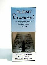 Nubar T309 Diamont Seal & Shine Top Coat Nail Lacquer .5 oz
