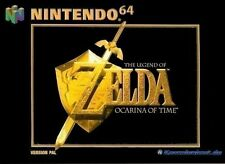 N64 Spiel - The Legend of Zelda: Ocarina of Time (mit OVP)