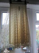 BNWT £35 UK 8 River Island Midi Skirt Cream Floral Lace Pleated Dress Up XMAS