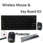 1 Set New Wireless Black 2.4G Optical Keyboard and Mouse USB Receiver Kit For PC