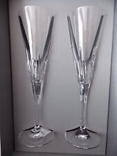 VERA WANG~DUCHESSE SET OF 2 CHAMPAGNE TOASTING FLUTES GLASS~NEW
