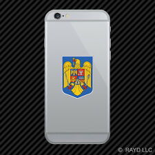 Romanian Coat of Arms Cell Phone Sticker Mobile Romania flag ROU RO