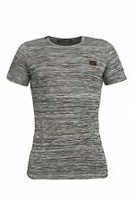 DOLCE GABBANA MEN T-SHIRT GRAY NWT SIZE S/44 GYM COLLECTION  SHORT SLEEVE