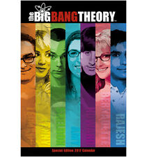 The Big Bang Theory TV Series Special Edition 12 Month 2017  Wall Calendar NEW