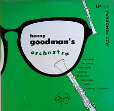 "BENNY GOODMAN & HIS ORCH. - VOLUME 2 - JAZZ PANORAMA - 10"" LP"