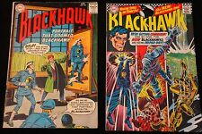 Two BlackHawk Comic Books -  Superman DC National Comics