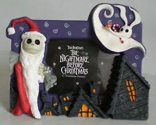 Nightmare Before Christmas NBX Santa Jack And Zero Disney Resin Photo Frame
