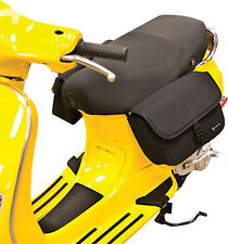 Scooter Adjustable Watertight Saddlebags Personal Storage Kwik-Tech Black NEW