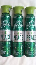 3 Glade BE AT PEACE BALSAM FIR & JUNIPER Spray 9.7oz.LIMITED COLLECTION SPRUCE