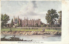 Eton College From The River In 1816, ETON, Berkshire